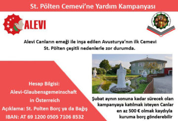St. Pölten Cemevine Yardım Kampanyası